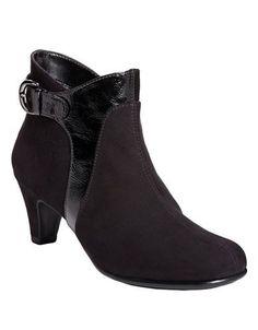 Aerosoles Playroom High Heel Booties Women's Black 6