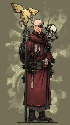 Warhammer 40k priest