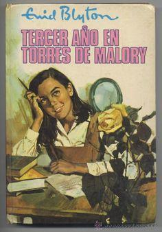 """1964 - """"ENID BLYTON"""" Nº 56 (# 56) - *TERCER AÑO EN TORRES DE MALORY* - Editorial MOLINO  (Libros de Lance - Literatura Infantil y Juvenil - Novela)"""
