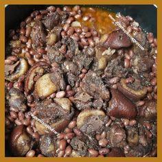 Jamaican Stew Peas: An Authentic Comfort Food Pea Recipes, Fish Recipes, Crockpot Recipes, Diced Carrots, Carrots And Potatoes, Stew Peas Recipe, Jamican Recipes, Jamaican Stew Peas, Best Beans