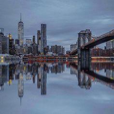 Photography   @2ndfloorguy  Canon 6D  16-35mm  30 sec   f/8   ISO 100 #Canon_Photos #NewYork by canon_photos