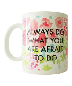 16 Motivational Coffee Mugs For a Great Day at Work Great Quotes, Quotes To Live By, Me Quotes, Inspirational Quotes, Motivational, Painted Coffee Mugs, Cute Mugs, Some Words, Diy Painting