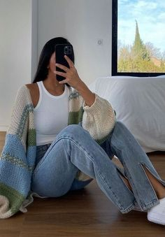 Collection | destinienodarse | VSCO Spring Outfits, Winter Outfits, Look Fashion, Fashion Outfits, Mode Simple, School Looks, Inspiration Mode, Outfit Goals, Looks Cool