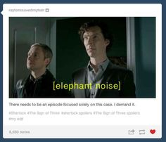 Yes. Johns face!!! B