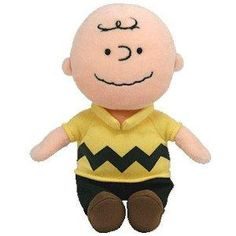 Ty Beanie Baby Charlie Brown with Sound