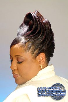 These short black hairstyles really are amazing! Black Hair Updo Hairstyles, Roll Hairstyle, Short Black Hairstyles, Trendy Hairstyles, Professional Hairstyles, Natural Hair Updo, Natural Hair Styles, Top Hair Salon, Red Hair Inspiration