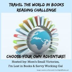Travel the World in Books Reading Challenge Sign Up Posts - Mom's Small VictoriesMom's Small Victories
