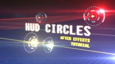 Create HUD circles in After Effects