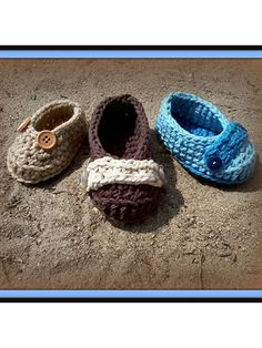 Crochet - Little Man Seaside Skimmers - #REC1429