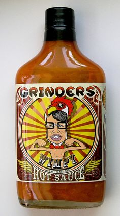 Grinders of KCMO created the best mild buffalo wing sauce in the country - they took home 1st place at the Scovie Awards! (The label is pretty sweet, too).