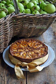 il gattoghiotto: Torta di mele con farina di grano saraceno e cannella (gluten free)