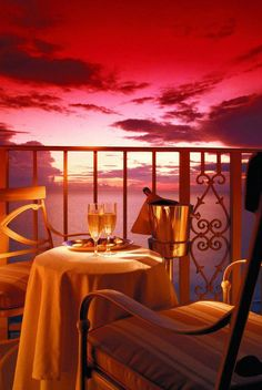 ♥ Valentine's table for two ...