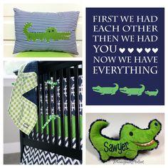 Alligator Decor for Nursery . Alligator Decor for Nursery . Vintage Nursery Decor, Elephant Nursery Decor, Nautical Nursery Decor, Baby Boy Nursery Decor, Baby Boy Nurseries, Nursery Themes, Nursery Ideas, Themed Nursery, Nursery Prints