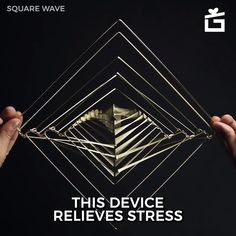 This unique, kinetic sculpture can help you relieve stress with its mesmerizing movements. Just spin it and get entertained with different optical illusions Optical Illusions For Kids, Optical Illusions Drawings, Illusions Mind, Illusion Drawings, Cool Optical Illusions, Art Optical, 3d Drawings, Optical Illusion Wallpaper, Optical Illusion Tattoo