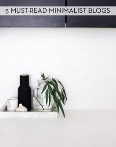5 Blogs To Help You Lead A Minimalist Lifestyle » Curbly | DIY Design Community (pin now read later)