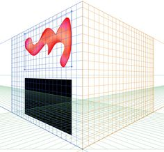 A gradient mesh cannot be attached directly to a perspective grid in Adobe Illustrator. Use this envelope distort trick to attach it indirectly!
