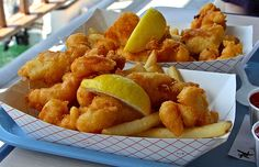 gluten free fish & chips; testing a variety of recipes to find one that really is CRISPY!