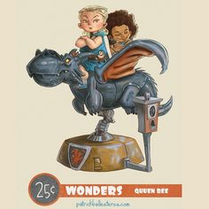 Patrick Ballesteros Game of Thrones 25 Cent Wonders