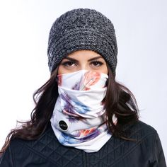 Hadley face mask is the best pull over tube snowboard face mask. It features a triple layer front bunch for improved fit. This mask is always warm and dry.