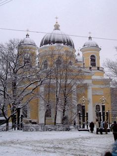 0012 - Saint Petersburg in Snow, Russia