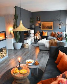 57 grey small living room apartment designs to look amazing 24 solnet-sy 57 grey small living room apartment designs to look amazing 24 solnet-sy Sascha B de saschabaede Interior 57 Grey nbsp hellip Living Room designs Living Room Orange, Living Room Grey, Small Living Rooms, Home Living Room, Apartment Living, Orange Room Decor, Gray Walls Decor, Gray Livingroom Ideas, Living Room Decor Yellow Walls
