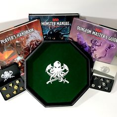 Win a COMPLETE #dnd Set (3 #dnd5e Books, 2 Metal Dice Sets, 1 Dice Tray) Valued at Over $200!