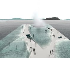 TOWN MIAMI MAY GREEN ARCHITECTURE NEWS: THE FUTURISTIC OPEN OCEAN PAVILION OF SOUTH KOREA
