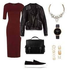 """""""Untitled #38"""" by martirosyanirishka ❤ liked on Polyvore featuring Topshop, Zara, Aspinal of London, Nixon and Forever 21"""