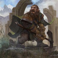 Erebor Guard by MariusBota.deviantart.com on @DeviantArt