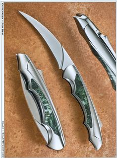 Ron Best Knives, Custom Created Folding Knives