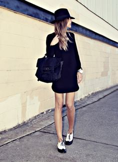4. Back to #School - 7 Awesome #Summer to Fall Looks ... → #Fashion [ more at http://fashion.allwomenstalk.com ]  #Fall #Cowboy #Black #Delicate #Pinks