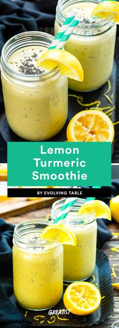 If you can't actually be in sun, pretend like you are with these drinks. #greatist https://greatist.com/eat/smoothie-recipes-made-with-citrus-fruits
