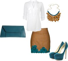 """""""Teal"""" by rprov on Polyvore"""