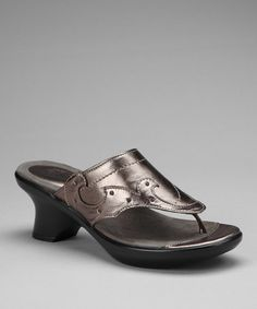 Take a look at this Bronze Lenka Sandal by DROMEDARIS on #zulily today!