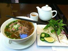 A hot bowl of Pho from Pho 24 Restaurant sounds good right about now!