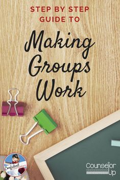 School counseling groups can be challenging to organize and make effective. Counselor up has tried and true ways to run school counseling groups smoothly.