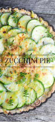 Rustic Zucchini Pie