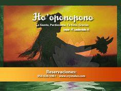 Clases de Hoponopono en Ft Lauderdale, reservaciones www.crystaluz.com