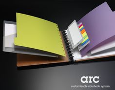 arc customizable notebook - want one so badly! they sell them at staples. slightly on the pricey side.