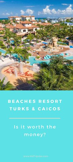 Everything you need to know about Beaches Resort Turks & Caicos - one of the world's best all-inclusive resorts. Caribbean Vacations, Beach Vacations, Beach Resorts, Beach Trip, Beaches Turks And Caicos, All Inclusive Family Resorts, Toddler Travel, Traveling With Baby, Family Travel