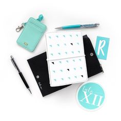 Another Small Classic Cover that pairs so well with the TulaXii teal! Our NEW Vinyl Letters help you personalize your organizer. Id Badge, Vinyl Lettering, Notebook, Teal, Wellness, Letters, Pairs, Organization, Classic