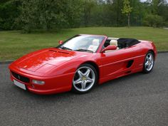 Ferrari 355 Spider...the first supercar I got to have a ride in!
