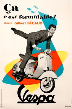 Vespa - Gilbert Becaud.