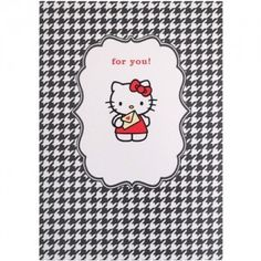 Hello Kitty Card: For You