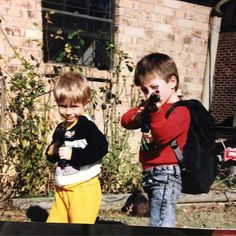 Via Zach: clearly I was Killin' the yellow pants game in the 80's #BananaPants #zachmyers #shinedown