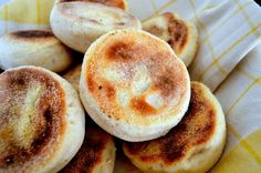 This English muffin recipe is so easy to make and so good. Once you taste the first warm one out of the pan, you will never buy store-bought English muffins again!