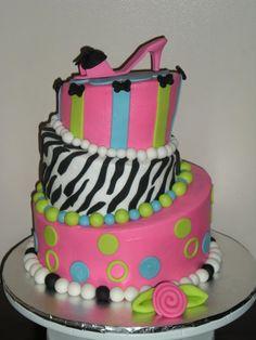 Amazing Girly Cake! miamm!!