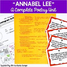 The Poe Poem Our Students LOVE | EB Academic Camps