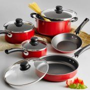 Tramontina 9-Piece Simple Cooking Nonstick Cookware Set Image 1 of 6