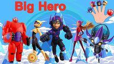 (Big Hero 6) Finger Family  Nursery Rhymes  KidsF  fingerfamilyheroes